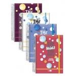 Liderpapel Basic - Agenda escolar, tamaño A5, impresión semana vista, tapa forrada extradura, encuadernada con espiral
