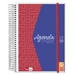 Liderpapel College - Agenda escolar, tamaño A5, impresión día página, tapa polipropileno personalizable, encuadernada con espiral, cierre con goma
