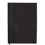 Liderpapel Corfu - Agenda anual, tamaño 15x21 cm, impresión día página en catalán, color negro