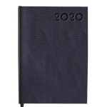 Liderpapel Corfu - Agenda anual, tamaño 15x21 cm, impresión semana vista, color azul