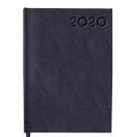 Liderpapel Corfu - Agenda anual, tamaño A6, impresión día página, color azul