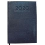 Liderpapel Creta - Agenda anual, tamaño 8x15 cm, impresión semana vista, color azul