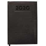 Liderpapel Creta - Agenda anual, tamaño 8x15 cm, impresión semana vista, color negro