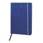 Liderpapel Esparta - Agenda anual, tamaño 15x21 cm, impresión día página, cierre con goma, color azul