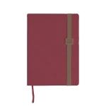 Liderpapel Larisis - Agenda anual, tamaño 17x24 cm, impresión día página, color burdeos