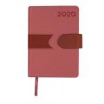 Liderpapel Lidhor - Agenda anual, tamaño 15x21 cm, impresión día página, color rojo
