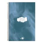 Liderpapel Syros - Agenda anual, tamaño 15x21 cm, impresión día página, tapa rígida, encuadernada con espiral, color azul
