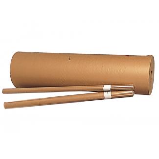 Liderpapel 1* 75 GR - Papel kraft liso, bobina de 1,10 mt, 60/65 kg, 75 g/m2, color marrón