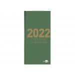 Liderpapel 162130 - Dietario, tamaño octavo, color verde