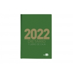 Liderpapel 162131 - Dietario, tamaño cuarto, color verde
