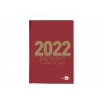 Liderpapel 162658 - Dietario, tamaño cuarto, color rojo