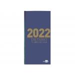 Liderpapel 162661 - Dietario, tamaño octavo, color azul