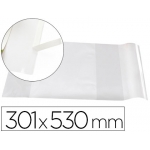Liderpapel AD09 - Forralibro ajustable nº 30, con solapa adhesiva, pvc, 301 x 530 mm