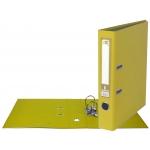 Liderpapel AY03 - Archivador de palanca, tamaño A4, lomo estrecho, con rado, color amarillo