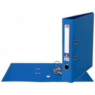 Liderpapel AY04 - Archivador de palanca, tamaño A4, lomo estrecho, con rado, color azul