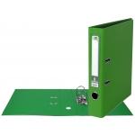 Liderpapel AY08 - Archivador de palanca, tamaño A4, lomo estrecho, con rado, color verde