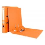 Liderpapel AY17 - Archivador de palanca, tamaño A4, lomo estrecho, con rado, color naranja