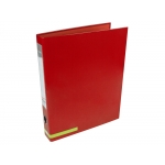Liderpapel AY23 - Carpeta de anillas, 2 anillas mixtas de 25 mm, cartón forrado, tamaño A4, color rojo