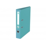 Liderpapel AY41 - Archivador de palanca, tamaño folio, lomo estrecho, con rado, color verde claro