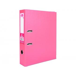Liderpapel AY27 - Archivador de palanca, tamaño folio, lomo ancho, con rado, color rosa