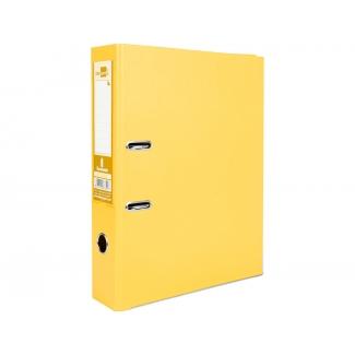 Liderpapel AZ29 - Archivador de palanca, tamaño folio, lomo ancho, con rado, color amarillo