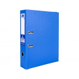 Liderpapel AZ30 - Archivador de palanca, tamaño folio, lomo ancho, con rado, color azul