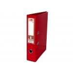 Liderpapel AZ33 - Archivador de palanca, tamaño folio, lomo ancho, con rado, color rojo