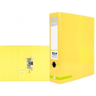 Liderpapel AZ36 - Archivador de palanca, tamaño A4, lomo ancho, color amarillo