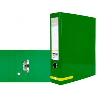 Liderpapel AZ40 - Archivador de palanca, tamaño A4, lomo ancho, color verde