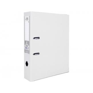 Liderpapel AZ51 - Archivador de palanca, tamaño folio, lomo ancho, con rado, color blanco