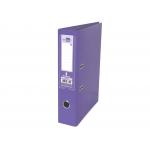 Liderpapel AZ74 - Archivador de palanca, tamaño A4, lomo ancho, con rado, color lila