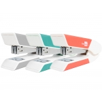 Liderpapel GR33 - Grapadora de sobremesa, usa grapas 22/6 - 24/6, regalo de extraegrapas y caja de 1.000 grapas, colores surtidos