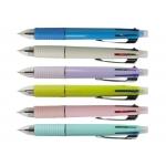 Liderpapel BW01 - Bolígrafo 5 en 1, tinta de aceite, punta redonda de 1 mm, cuerpo de colores surtidos, tinta azul, negro, rojo y verde y portaminas de 0,5 mm