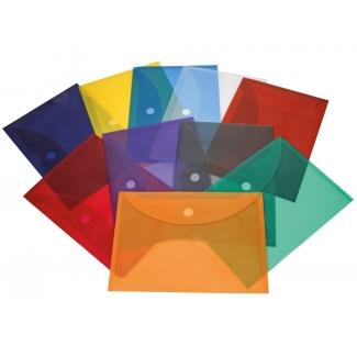 Liderpapel BY02 - Dossier con velcro, A4, 180 micras, capacidad para 50 hojas, color surtidos, paquete de 10+2 gratis