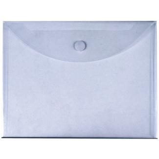 Liderpapel BY04 - Dossier con velcro, A4, 180 micras, capacidad para 50 hojas, transparente