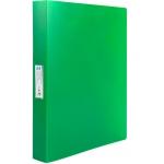 Liderpapel CA61 - Carpeta de anillas, 4 anillas mixtas de 25 mm, polipropileno, A4, color verde translúcido