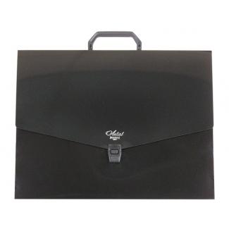 Liderpapel Artist - Carpeta portadocumentos con asa, polipropileno, A3, color negro