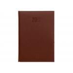 Liderpapel Creta - Agenda anual, tamaño 15 x 21 cm, impresión semana vista, color burdeos