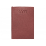 Liderpapel Creta - Agenda anual, tamaño 17 x 24 cm, impresión día página, color burdeos