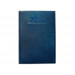 Liderpapel Creta - Agenda anual, tamaño 8 x 15 cm, impresión semana vista, color azul
