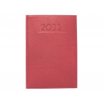 Liderpapel Creta - Agenda anual, tamaño 8 x 15 cm, impresión semana vista, color burdeos