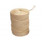Liderpapel CU01 - Cuerda sisal 3 cabos, rollo de 83 metros