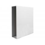 Liderpapel CZ29 - Caja para archivador, tamaño A4, lomo ancho, color blanco