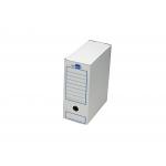 Liderpapel DF03 - Caja archivo definitivo de cartón, tamaño cuarto