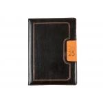 Liderpapel Dorios - Agenda anual, tamaño 15 x 21 cm, impresión día página, color negro y naranja