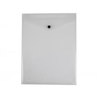 Liderpapel DS12 - Dossier con broche, A4, formato vertical, 180 micras, capacidad para 50 hojas, transparente