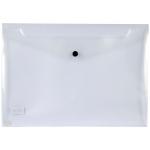 Liderpapel DS17 - Dossier con broche, A4, 180 micras, capacidad para 50 hojas, transparente