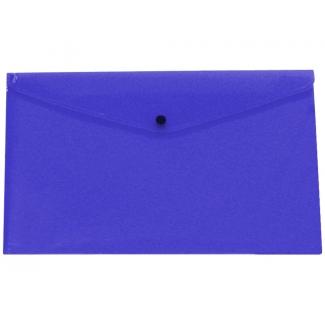 Liderpapel DS30 - Dossier con broche, A3, 180 micras, capacidad para 50 hojas, color azul transparente frosty