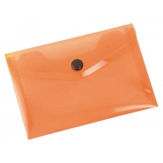 Opina sobre Liderpapel DS39 - Dossier con broche, A7, 180 micras, capacidad para 50 hojas, color naranja transparente frosty