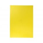 Liderpapel GC01 - Goma eva, espesor de 2,2 mm, 50 cm x 70 cm, ondulada, amarillo
